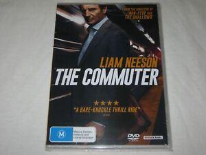 The Commuter - Liam Neeson - Brand New & Sealed - Region 4 - DVD