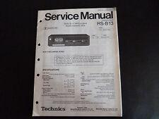 Original Service Manual Technics stereo cassetten Deck RS-B13