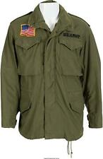M65 JOHN RAMBO FIRST BLOOD MILITARY GREEN COAT US ARMY MEN JACKET 100% COTTON