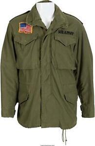 M65 JOHN RAMBO FIRST BLOOD MILITARY GREEN COAT US ARMY MEN JACKET 100% COTTON