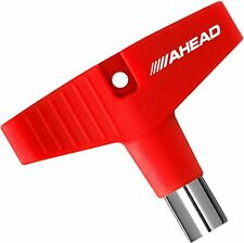 More details for ahead gripkey drum key with red silicone grip adkgr