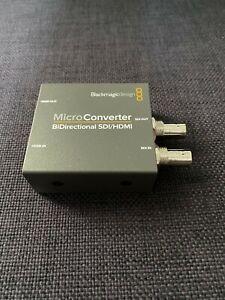 Blackmagic Design Micro Converter Bi-Directional SDI/HDMI Loop Out