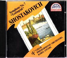 SHOSTAKOVICH-Symphony No. 7 Leningrad- Recorded 1957- CD- Karel Ancerl- Czech PO