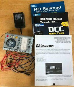 Bachmann E-Z COMMAND Control Center #44901,ested,Working w/ AC + Manual, 3 Books