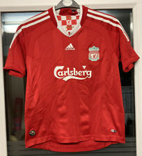 Liverpool FC 2008-2010 Adidas Home Football Shirt Size 30/32 #9 Torres
