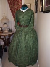 CLEARANCE SAVE 30% Civil War Reenactment Day Dress Size 26 WAS $180 NOW $126