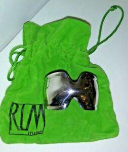 Robert Lee Morris RLM Studio 925 Modernist Sterling Silver Cuff Bracelet