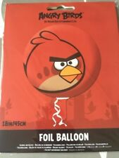 Red Angry Bird Foil Balloons