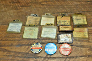 L950- Lot of Vintage Fishing Licenses 1940s-1970s - PA MD WV OH