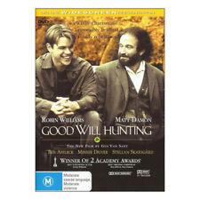 Good Will Hunting DVD Region 4 - Brand New Sealed - Robin Williams, Matt Damon