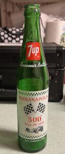 1978 Indianapolis 500 Souvenir Bottle 7UP