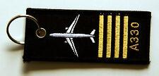Rang Pilot A330 Schlüsselanhänger NEU 330 Rangabzeichen Keyring Anhänger