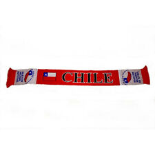 CHILE COUNTRY FLAG, SELECION NACIONAL DE FUTBOL  FIFA WORLD CUP THICK SCARF..NEW