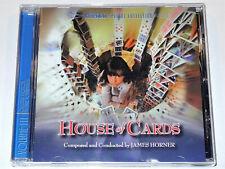 James Horner HOUSE OF CARDS Kathleen Turner Tommy Lee Jones Soundtrack CD VG-