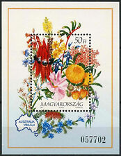 Flowers Postage Hungarian Stamps