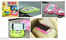 Car Anti-Slip Dashboard Sticky Mat Cartoon Design Phone Keys Accessories Holder