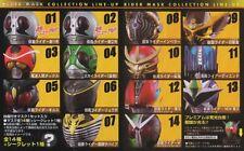 Bandai Kamen Rider Mask Collection Vol. 7 - Kamen Rider No.1 & No.2 (Set of 2)