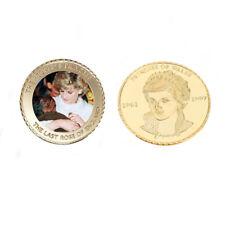 Princess Diana 20th 24k Gold Coin Commemorative Souvenir Coin Christmas Gifts