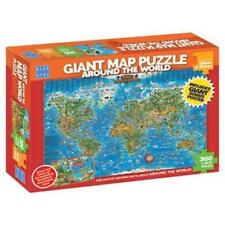 NEW IN BOX Blue Opal Jigsaw Puzzles - Giant Around The World Puzzle 300pc