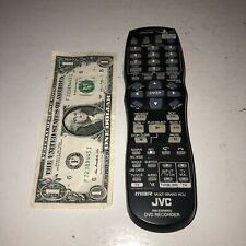 JVC DVD Recorder Remote Control RM-SSR005U TESTED! Works Great!