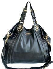 Authentic Gucci Black Soft Leather Large Shoulder/Handbag 223935