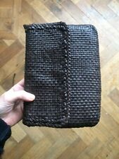 Dragon nice leather woven bag