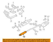 VOLVO OEM 05-11 XC90 4.4L-V8-Muffler 31355313