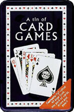 NEW IN TIN  - PARRAGON Tin of Card Games - Classic Family Games