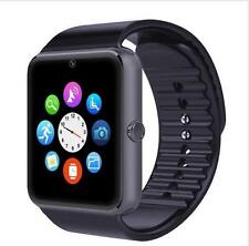 GT08 Bluetooth-uhr GSM SIM Smart BEOBACHTEN Android IOS iPhone WhatsApp SILBER