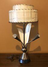 Tulip Lamp & the shade FANTASTIC ! Vintage - Mid Century Modern
