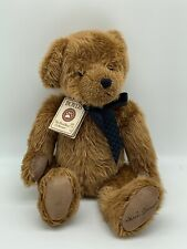 "Arthur Oscar 16"" Boyds Bear With Black Bow (Retired) 2006 Nwt Vintage"