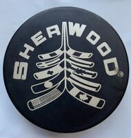 SHER-WOOD VINTAGE OFFICIAL HOCKEY PUCK MADE IN SLOVAKIA VEGUM
