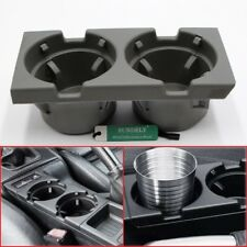 FRONT CENTER CONSOLE CUP HOLDER GRAY FOR BMW 3 SERIES E46 1998 1999 2000 2001