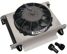 Derale Hyper-Cool 25 Rows Oil Cooler with 13 inch Fan -10AN