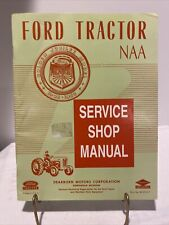 Ford Tractor Naa Service Shop Manual Golden Jubilee Model