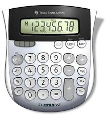 Solar Large Digital Student Office Desk Calculator Texas Instruments TI1795SV