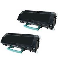 New ! 2PK Toner For Lexmark E260 E260D E260DN E360 E360D E360DN E460DN E260A11A