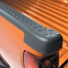 Truck Bed Side Rail Protector-Bed Rail Protector - Dark Smoke Gray GM OEM