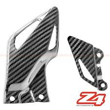 2008-2011 Honda CBR1000rr Rearset Foot Peg Mount Heel Guard Plate Carbon Fiber