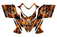 POLARIS SHIFT RMK DRAGON wrap graphics sled deco kit #9500N Zombie Skull