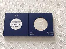 Coffret d'une pièce de 100 € en argent France 2011
