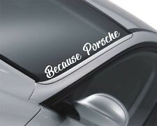 Porsche Windscreen Sticker Boxster Rear Window Sticker Decal Graphics QS58