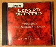 RARE CD single promo only LYNYRD SKYNYRD Acoustic Sampler CAPRICORN RECORDS