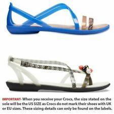 Sandali e scarpe blu Crocs per il mare da donna