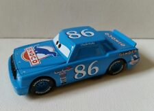 CARS Disney pixar CHICK HICKS BLU DINOCO sfuso cars mattel  PISTON 1:55 maclama
