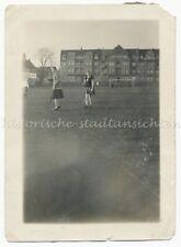 Magdeburg - Damenhockey Field Hockey Fußballplatz Building - Old Photo 1930er