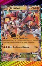 Cartes Pokémon groudon ultra rare à l'unité