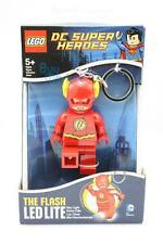 Lego Movie Minifigure The Flash DC SUPER HEROES Key Light LED Lite torch Toys