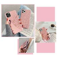 Cool Slim Leopard Glossy Back Case Cover For iPhone 11 12 MINI PRO MAX 8 XS XR