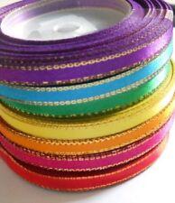 7 rolls (105 yards) Satin Ribbon width 7 mm Mix rainbow colors